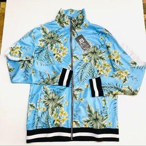 American stitch printed jacket